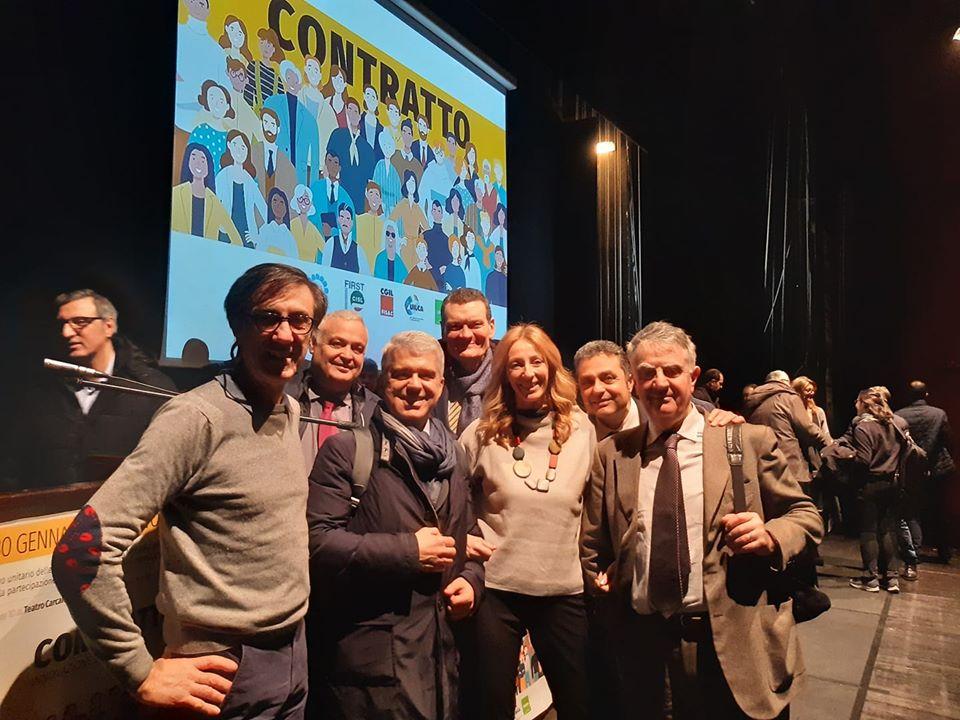 Rinnovo Ccnl: l'attivo unitario al Teatro Carcano